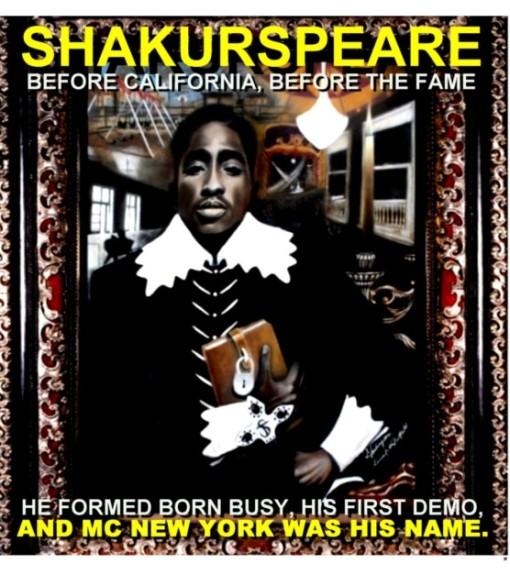 Carátula 'Shakurspeare'