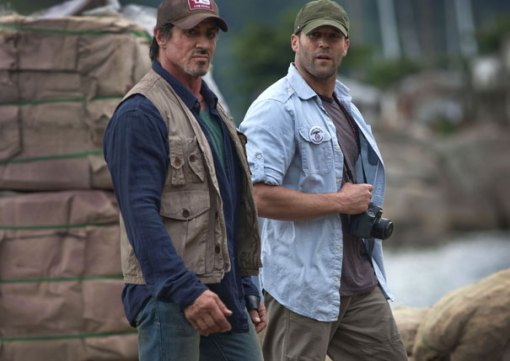 Stallone - Statham - The Expendables