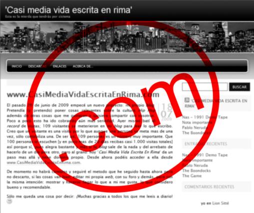 CasiMediaVidaEscritaEnRima.com